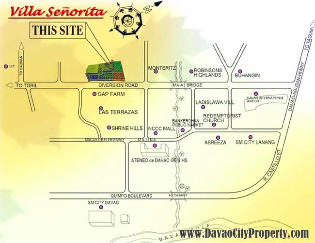 villa-senorita-map-maa-davao-city