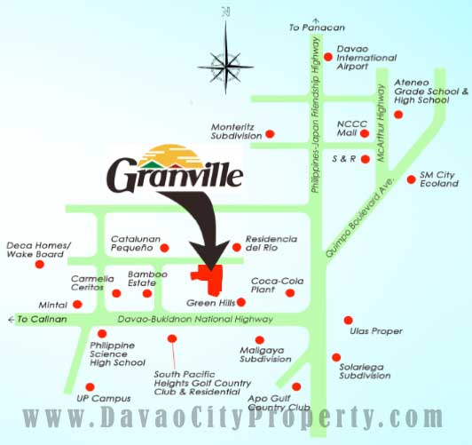Granville-Prestige-homes-catalunan-pequeno-vicinity-map