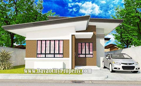 Model House 1 - 3 Bedrooms; 2 Toilet & Bath Lot Area: 180 sqm ; Floor Area: 61.29 sqm