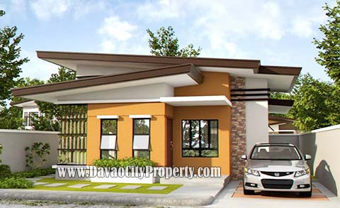 Model House 2: 3 Bedrooms; 1 T&B Lot Area: 180 sqm; Floor Area: 73.25 sqm