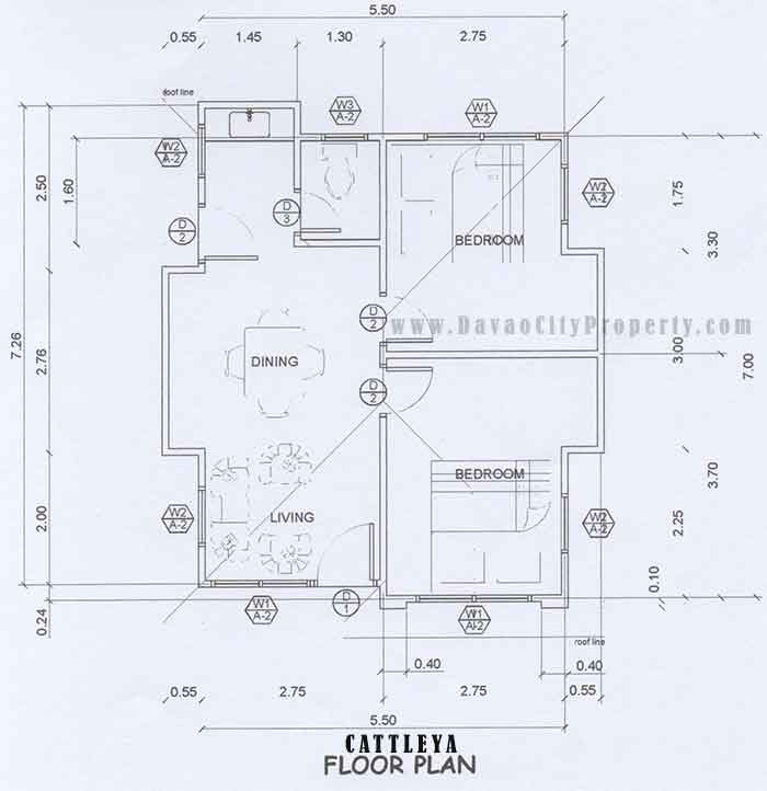 Affordable housing at apo highlands subdivision catalunan for Floor plan cost