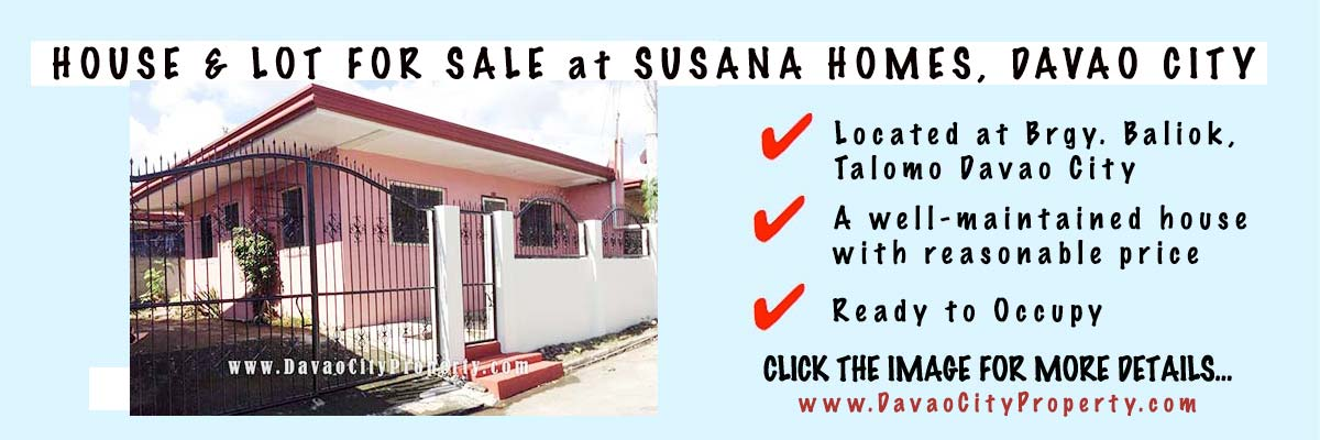 House and Lot For Sale at Susana Homes