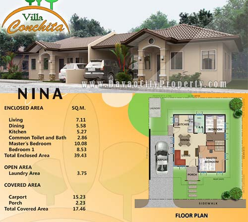 House And Lot For Sale At Villa Conchita Bago Gallera Davao
