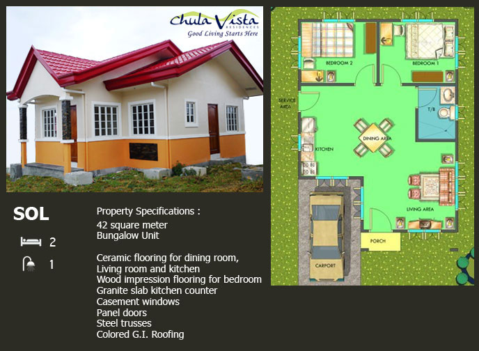 sol_b-House and Lot For Sale at Chula Vista Residences Cabantian Buhangin Davao City