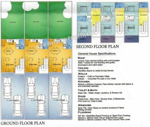 Floorplan-Affordable-Townhouse-at-THE-HARMONY-back-of-NCCC-Cabantian-Buhangin-Davao