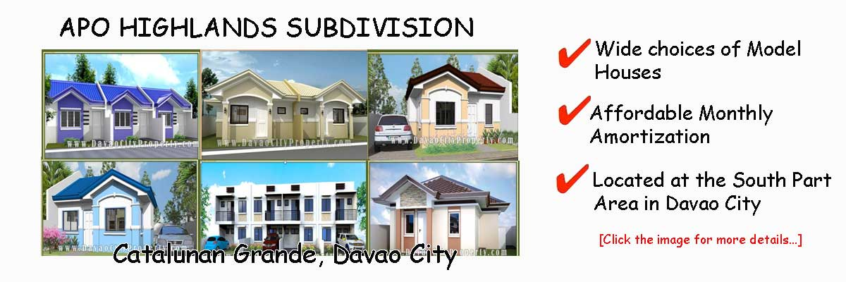 APO HIGHLANDS SUBDIVISION