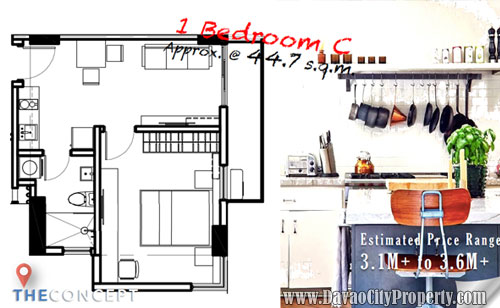 1-Bedroom-C-Davao-City-Property-affordable-low-cost-Condominium-inBuhangin-Davao-Amani-Grand
