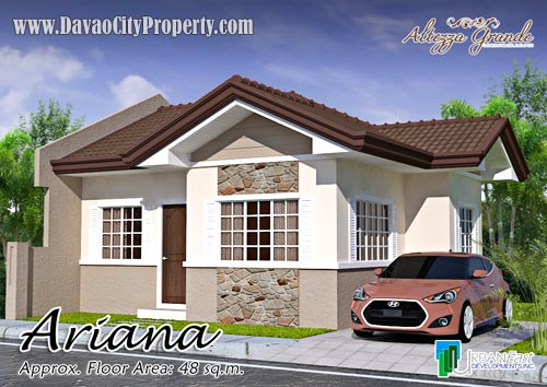 Ariana-Bungalow-Low-Cost-Affordable-Housing-in-Altezza-Grande-Caalunan-Grande-Davao-City