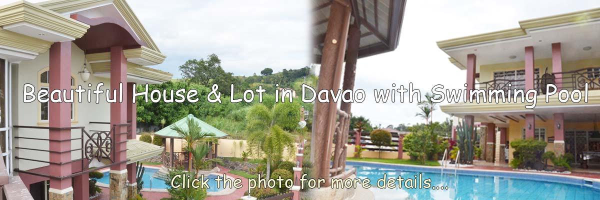 House & Lot in Davao with Swimming Pool