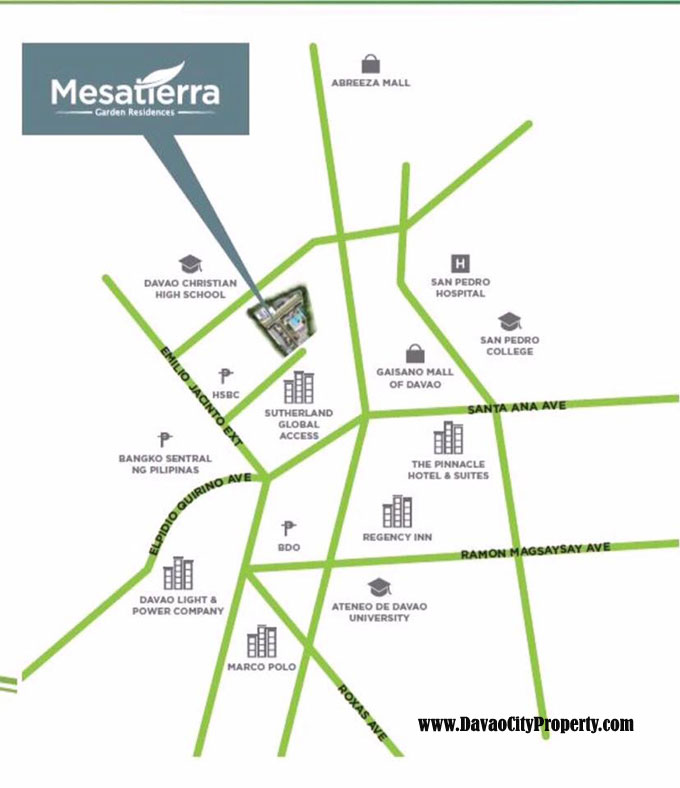 Vicinity-Map-Mesatierra-garden-residences-affordable-low-cost-condo-in-jacinto-davao