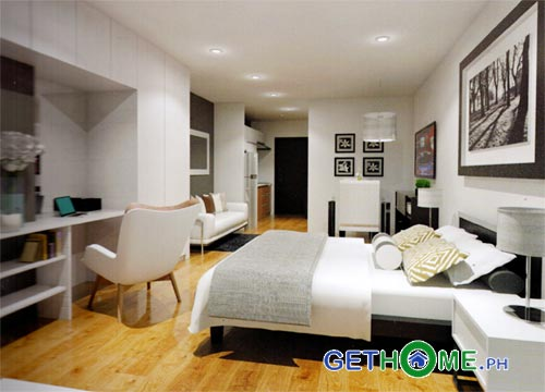 Studio-Lay-out-Ivory-Residences-Davao-COndo-in-JP-Laurel-Santos-Land