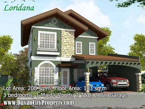 Loridana-3-bedrooms-3-toilet-The-Gardens-at-South-Ridge-House-and-lot-in-Catigan-Toril-davao-city-property