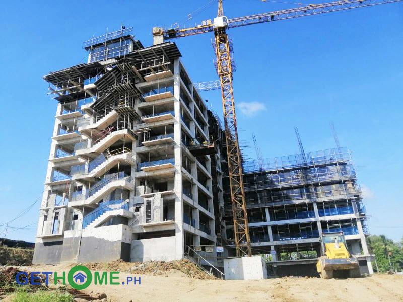 Amani Grand Davao Condo Building A Construction Update as of FEB 2020