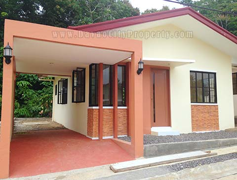 Mintal House & Lot For Sale at Elenita Heights Subdivision Park Villas Davao