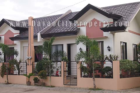 Low cost housing at Granville Subdivision Catalunan Pequeño