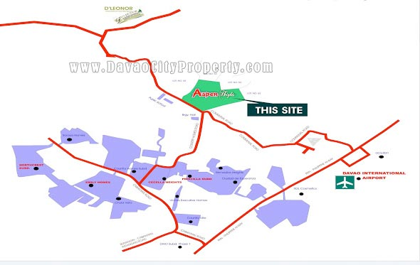 Vicinity-Map-House-and-Lot-for-Sale-at-Aspen-Heights-Buhangin-Davao-City