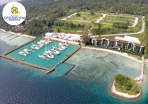 Holiday Ocean View Residences Resort Condominium in Samal