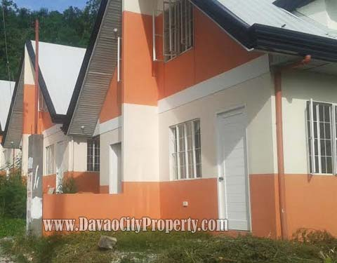 DIEGO duplex model house at The Prestige Subdivision Cabantian Buhangin