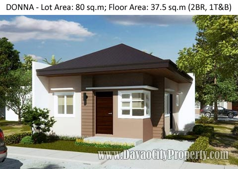 DONNA – 2 Bedroom 1 Toilet  at Uraya Residences Catalunan Grande Davao