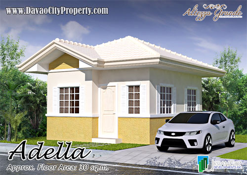 Adella 2 Bedrooms 1 Toilet & Bath at Altezza Grande Catalunan Davao
