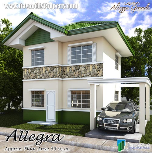 Allegra 3 Bedrooms 2 Toilet & Bath at Altezza Grande Catalunan Davao