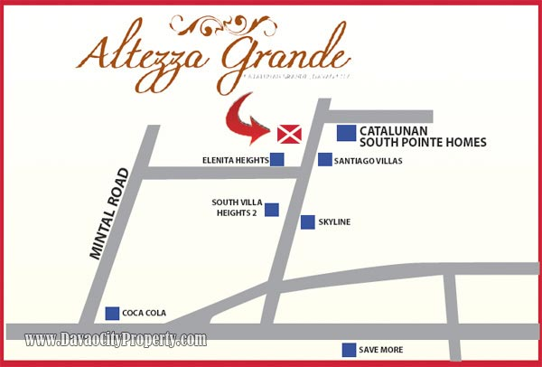 House & Lot at ALTEZZA GRANDE Catalunan Grande Davao