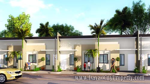 RAFAEL Row House 2 Bedrooms 1 Toilet at Granville Crest Davao