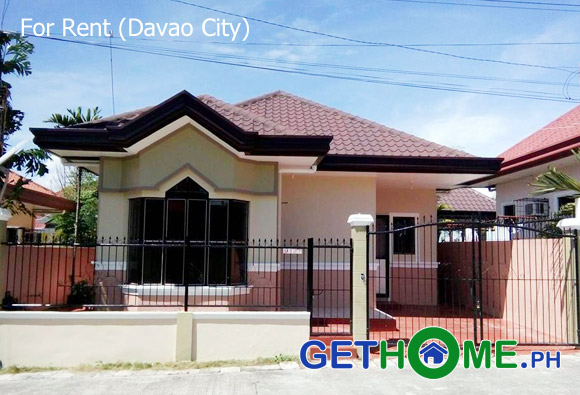 2 Bedrooms 2 Toilet Bungalow For Rent in Davao City - Davao
