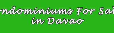 Condominiums For Sale in Davao