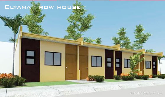 Bria Homes Row House