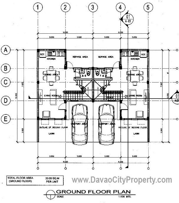 Marie-Floor-Plan-3-Bedrooms-Cambridge-Heights-Terraces-Affordable-Low-Cost-housing-in-Malagamot-Panacan-Davao-City-Property-1