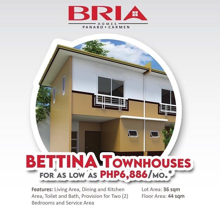 Bettina Townhouse at Bria Homes