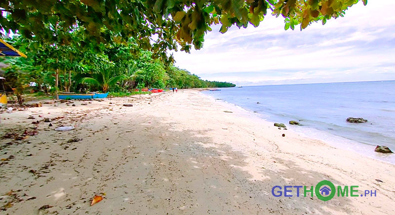 4 Hectares White Sand Beachfront Lot For Sale in Governor Generoso