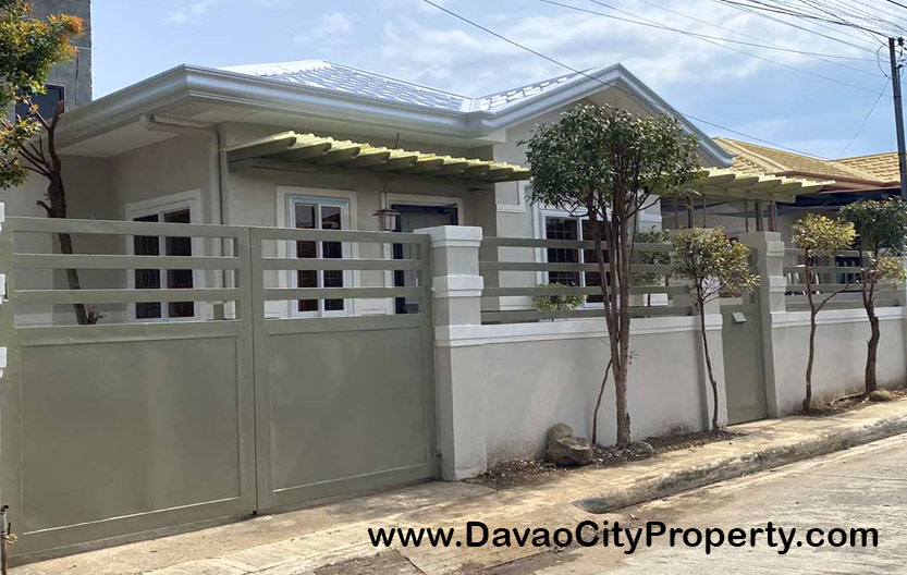 FOR RENT 2 Bedrooms Fully Furnished House at Catalunan Pequeno Davao